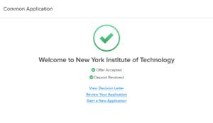 最终选择纽约理工大学